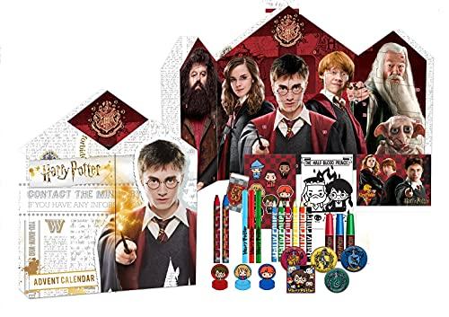 Harry Potter Adventskalender Schreibwaren 2021 - Inhalt