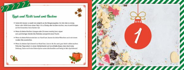 Inhalt: Sweet Christmas Rezepte-Adventskalender 2020