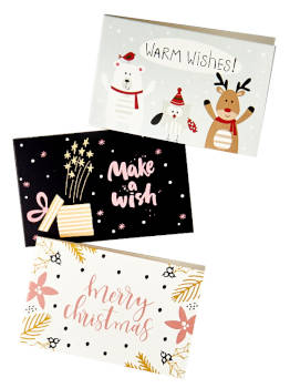 essence Adventskalender 2018 Mini Greeting Cards 3 Stück