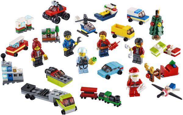Inhalt: LEGO City Adventskalender 2020