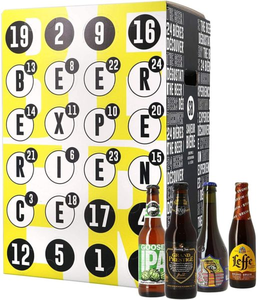 Inhalt: Bier Adventskalender International 2019