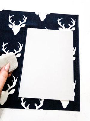 """Adventskalender Säckchen """"Deer"""" nähen - Anleitung"""