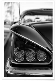 58 Chevrolet Schwarz-Weiß Fotografie
