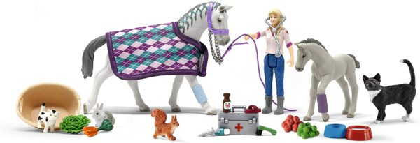 Inhalt: SCHLEICH Horse Club Adventskalender 2020