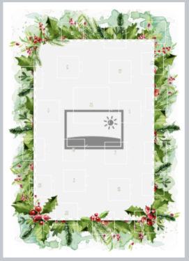Layout Rahmen Weihnachtlich
