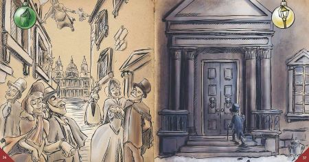 24 DAY ESCAPE - Scrooge und die verlorene Weihnachtsgeschichte Inhalt 1