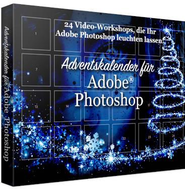 Video Workshop Adventskalender für Adobe Photoshop Franzis