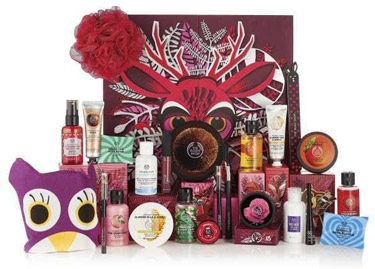 The Body Shop 25-Days-of-the-Enchanted Deluxe Adventskalender 2018 Inhalt