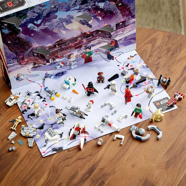 Inhalt: LEGO Star Wars Adventskalender 2020