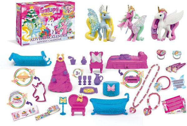 Inhalt Craze Adventskalender 2020 GALUPY Unicorn