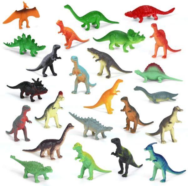 Inhalt: Laffity Dinosaurier Adventskalender 2020
