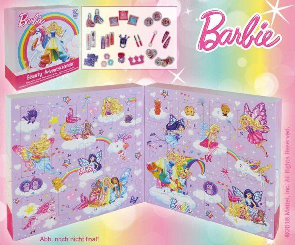 Inhalt Barbie Beauty Adventskalender 2018