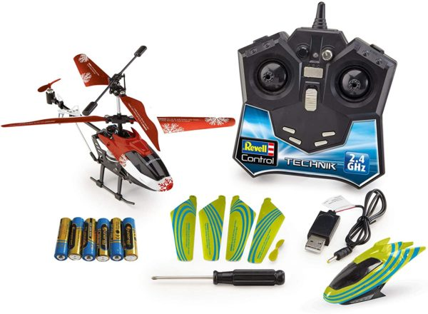 Inhalt: Revell RC Technik Helikopter Adventskalender 2020