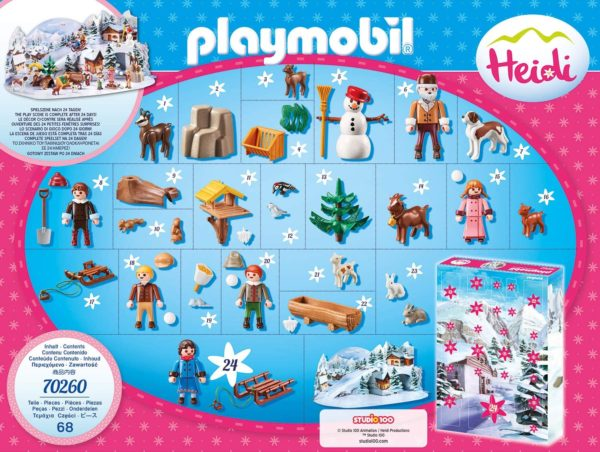 Inhalt PLAYMOBIL Adventskalender 2020