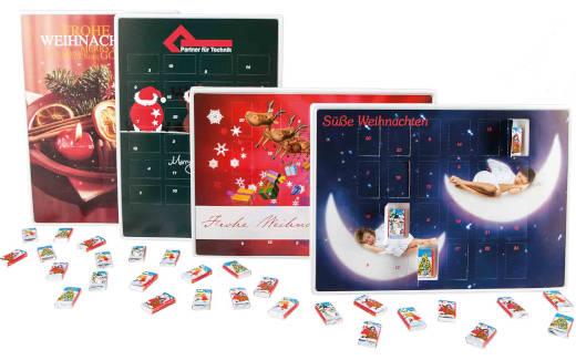 4Business Werbeartikel Adventskalender Schokolade