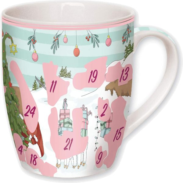 Inhalt: Adventskalender-Tasse 2020