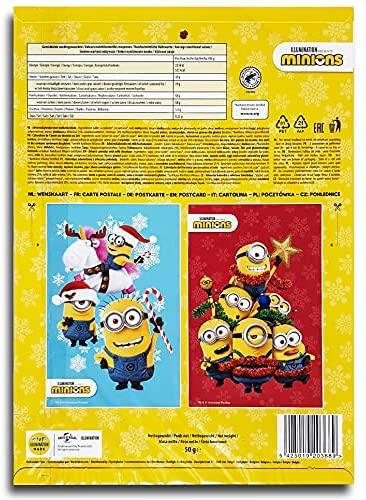 Minions Schokolade Adventskalender 2021