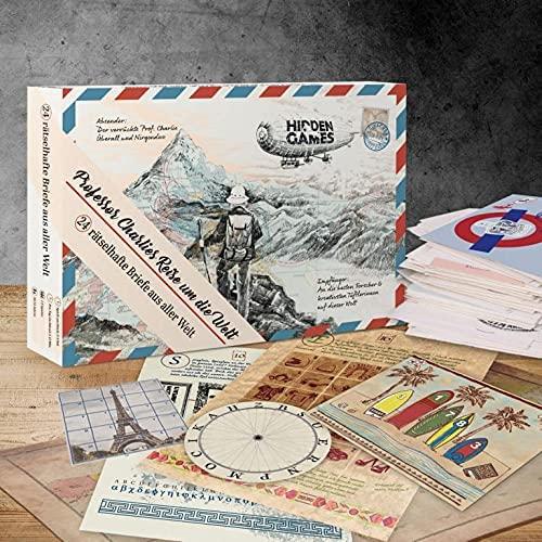 Hidden Games/Escape Adventskalender: Professor Charlies Reise / Korb/Ausblick
