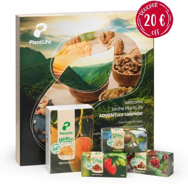 Plantlife Adventskalender vegan 2021