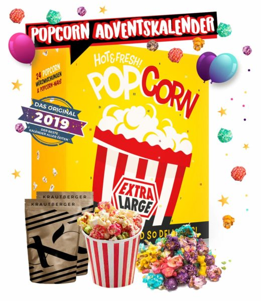 Popcorn Adventskalender Amazon