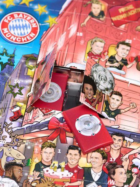 FC Bayern München Schokolade Adventskalender 2021