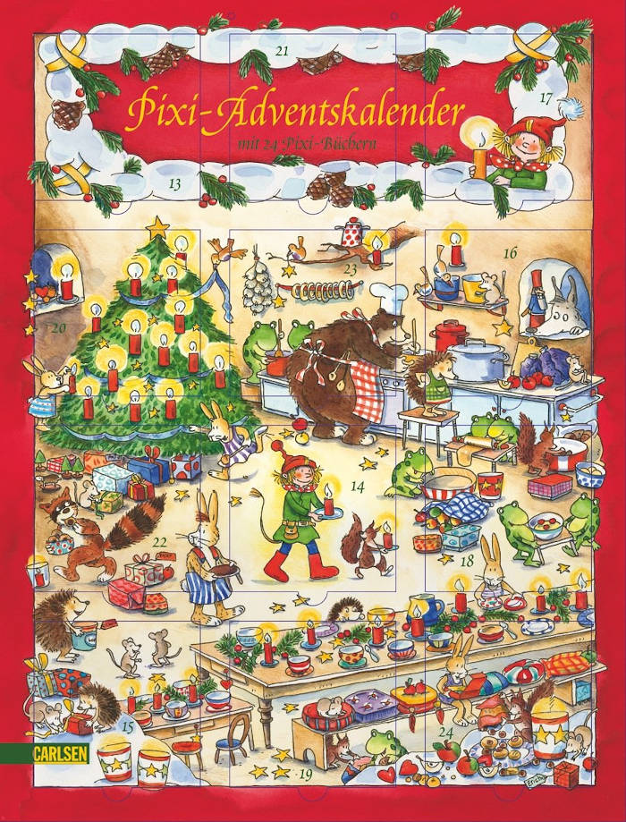 amazon Pixi Adventskalender Glitzer