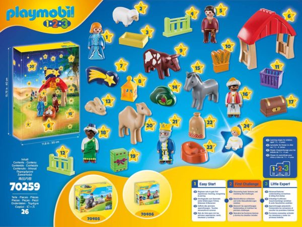 Inhalt Playmobil Adventskalender 123 2020