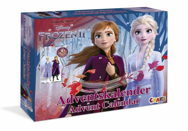 amazon FROZEN 2 Adventskalender 2019 CRAZE