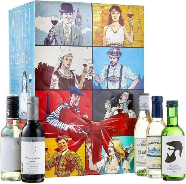 Wein Tasting Adventskalender 2021 Kalea