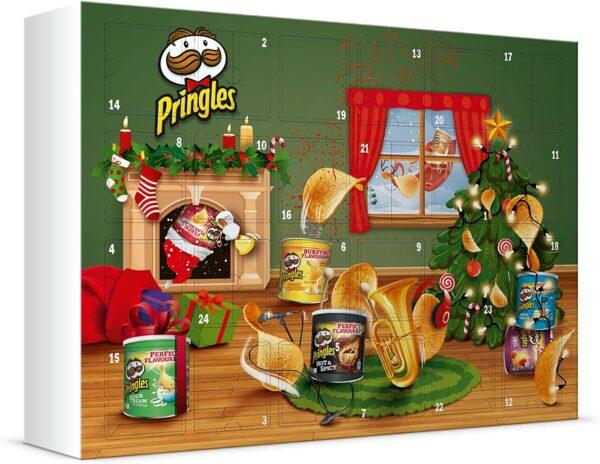 Pringles Chips Adventskalender 2021 Huber Koelle