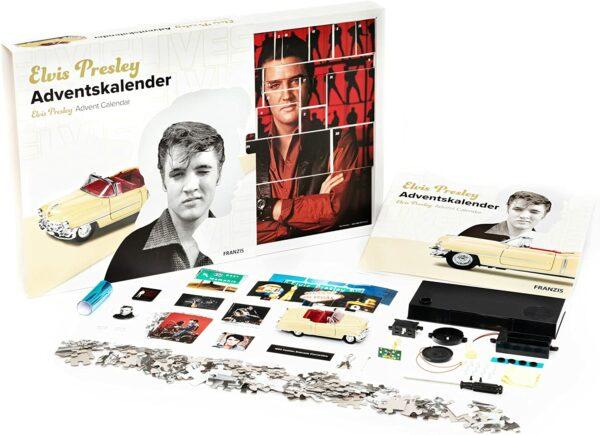 Elvis Presley Cadillac Adventskalender Franzis 2021