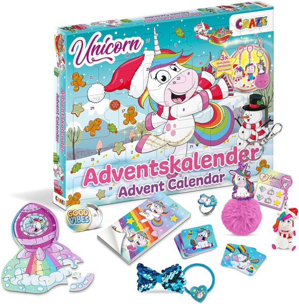 Unicorn craze Adventskalender 2021