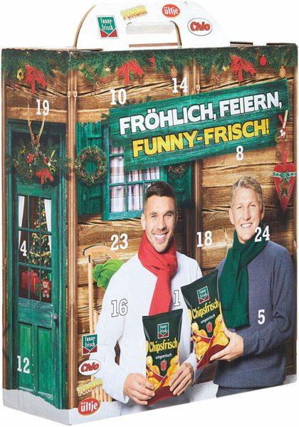 Intersnack-Adventskalender Schweinsteiger & Podolski