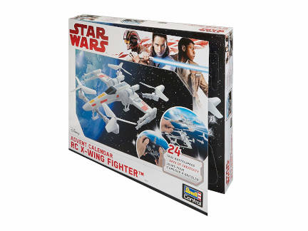 amazon Adventskalender Revell Control Star Wars X-Wing-Fighter