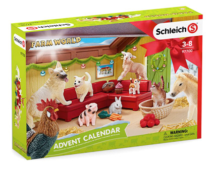 Adventskalender-Schleich-Farm-World-2018