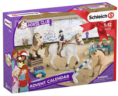 Adventskalender-Schleich-Horse-Club-2018