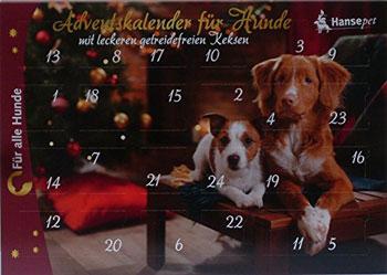 Adventskalender Fuer Hunde Leckerli