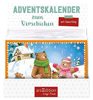 Weihnachtskalender Büro.Adventskalender Zum Verschicken Kindermotive Jatkowska