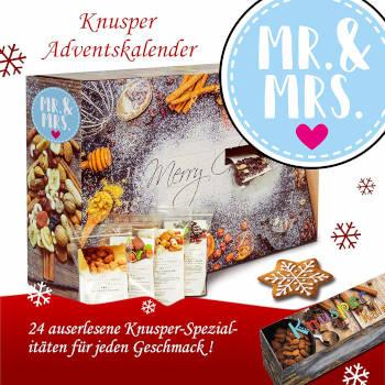 Adventskalender Knusper Mr. & Mrs. 2019