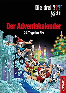 Die drei Fragezeichen Kids - Adventskalender 2019 - 24 Tage im Eis