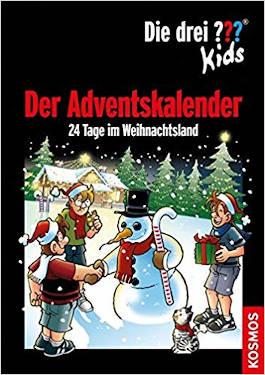 Adventskalnder der drei Fragezeichen - 24 Tage im Weihnachtsland