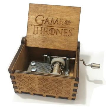 Game of Thrones Musikbox - Füllideen für den eigenen Adventskalender