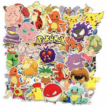 Adventskalender Füllideen - Pokémon Sticker für den eigenen Pokémon Adventskalender