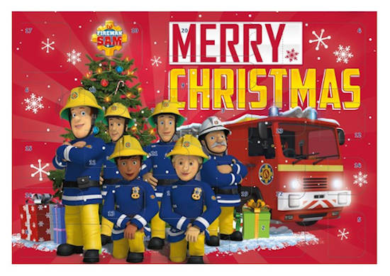 amazon Schreibwaren Feuerwehrmann Sam Adventskalender
