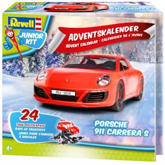 Adventskalender Revell Porsche 911 Carrera S