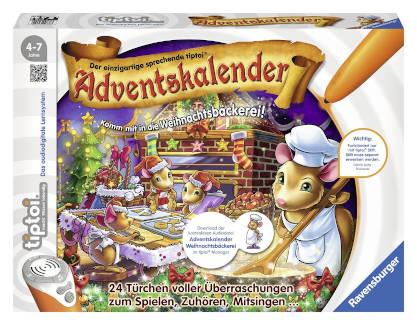 Adventskalender Ravensburger Tiptoi Weihnachtsbäckerei 2015