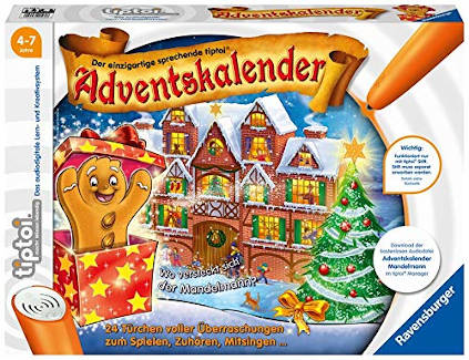 Ravensburger Tiptoi Adventskalender Lebkuchenmännchen 2019