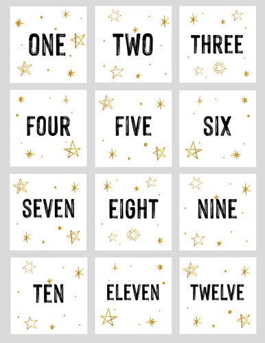 Bild Adventskalender Zahlen Starlight zum Download
