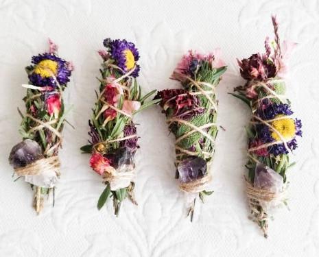 Räucher Blumen Stick
