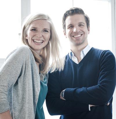 Lea-Sophie Cramer und Sebastian Pollok - Amorelie Gründer